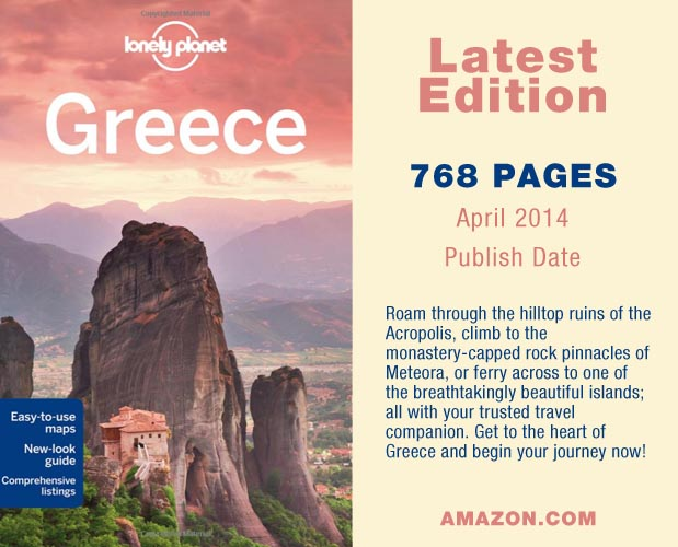 Amazon Lonely Planet 2014 Greece Hand Book