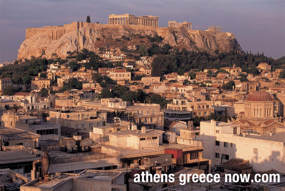 Acropolis and Parthenon Athens Greece