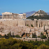 Acropolis with Mount lycebettus