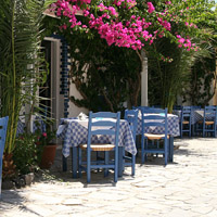 A Greek taverna Restaurant